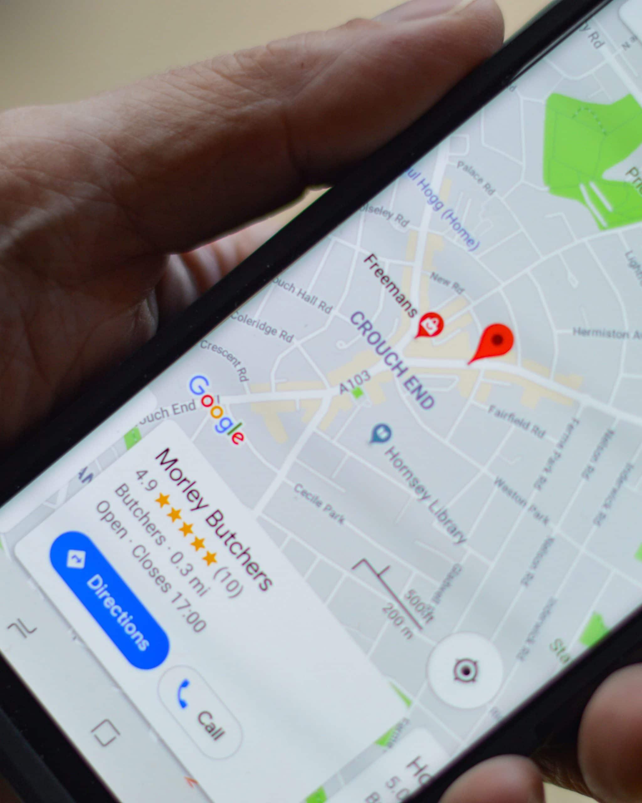 Google My Business Listings Optimization