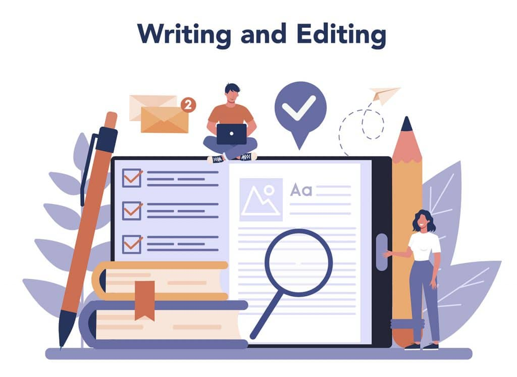 writing and editing for SEO