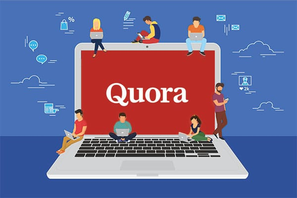 Quora - Question and Answer website.